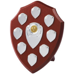 "Traditional Annual Shield Trophy - 25cm (10"")"
