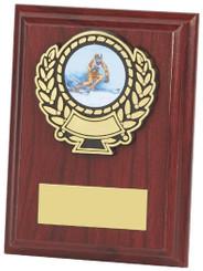 "Wood Plaque Award - 10cm (4"")"
