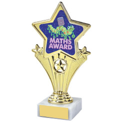 Fun Customisable Star Awards - MATHS