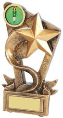 "Gold Shooting Star Award - TW18-109-RS677 - 11cm (4 1/4"")"