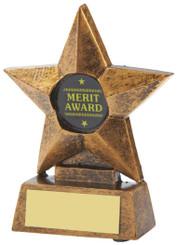 "Resin Star Award - TW18-109-T.9241 - 10cm (4"")"
