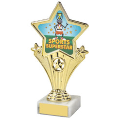Fun Customisable Star Awards - SPORTS SUPERSTAR