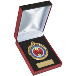 Luxury Medal Case for 60mm Medals - Gold - TW19-033-PB130