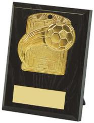 """10cm Football Pitch Medal Plaque - 10cm (4"""") - TW19-034-533AP"""