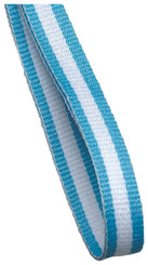 10mm Medal Ribbon - Lt. Blue/White/Lt. Blue