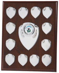 "Economy Annual Record Shield Award - TW18-120-166A - 25.5cm (10"")"