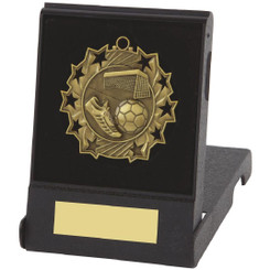 Black Plastic Presentation Case for 60mm Medals - Case for Gold Medal
