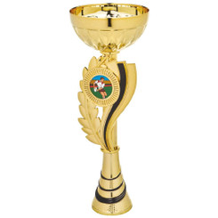 Gold/Black Wreath Cup Award - 24.5cm