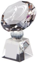 """Crystal Diamond Award for Men's Golf - TW18-162-T.0380 - 12cm (4 3/4"""")"""