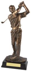 "Gold Figure Men's Golf Award - TW18-159-RS126 - 21.5cm (8 1/2"")"