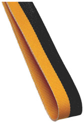 22mm Width Medal Ribbon - Gold/Black