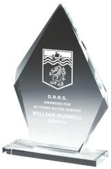 "Crystal Iceberg Award - TW18-195-T.7250 - 22.5cm (9"")"