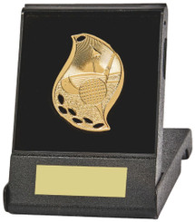 Flame Design Golf Medal in Presentation Case - TW18-170-T.1236 - Silver