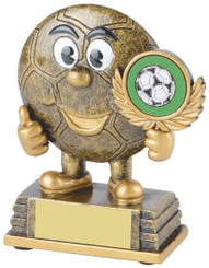 "Gold Resin Football Character Award - 11cm (4 1/4"") - TW18-025-RS282"