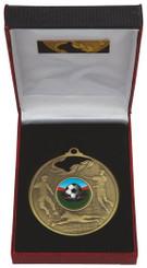70mm Men's Football Medal in Case - TW18-036-031B