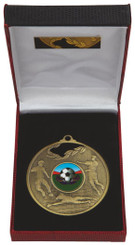 70mm Men's Football Medal in Case - TW18-036-031C