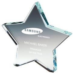"Crystal Star Award - 13cm (5 1/4"")"