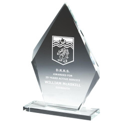 "Crystal Iceberg Award - 22.5cm (9"")"