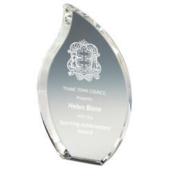 """Crystal Flame Award - 16cm (6 1/4"""")"""