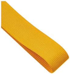 22mm Width Medal Ribbon - Gold