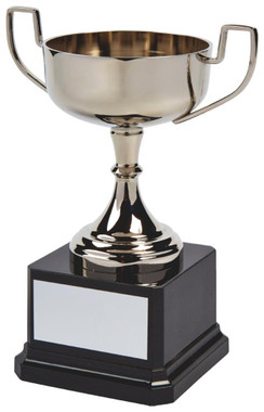 """Nickel Plated Trophy Cup - 17cm (6 3/4"""") - TW19-143-SV876"""