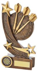 "Gold Resin Darts Board Award - TW18-074-RS711 - 16cm (6 1/4"")"