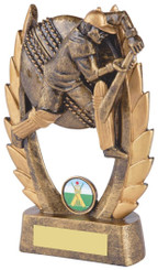 "Gold Cricket Batsman Award - TW18-068-RS326 - 13cm (5"")"