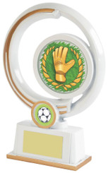 "White Resin Goalkeeper Award - 13cm (5"") - TW18-031-522ZBP"