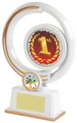 """White Resin Multi Sport Award - TW18-095-615ZBP - 16cm (6 1/4"""")"""
