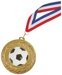 90mm Gold Football Medal - TW18-034-678BP