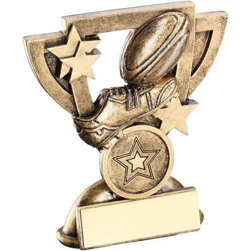 Hockey Award Shooting Star Sticks /& Ball Trophy FREE Engraving 2 sizes RF334