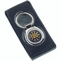 Darts '180' Metal Keyring - Round 1.75In