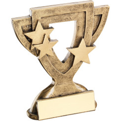 Brz/Gold Generic Mini Cup Trophy - 4.25In