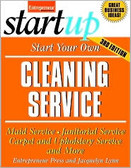 Start Your Own Cleaning Service by Entrepreneur Magazine 0427PB