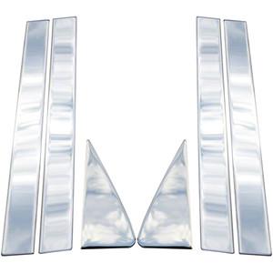 Auto Reflections | Pillar Post Covers and Trim | 08-12 Ford Escape | pc273-escape-pillar-posts