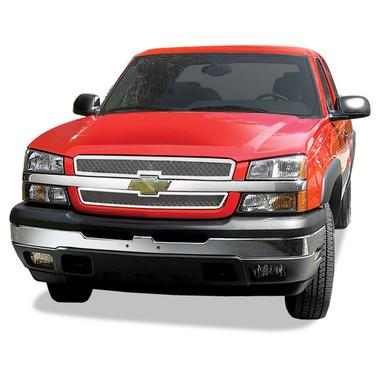 Premium FX | Grille Overlays and Inserts | 05-06 Chevrolet Silverado HD | PFXG0391