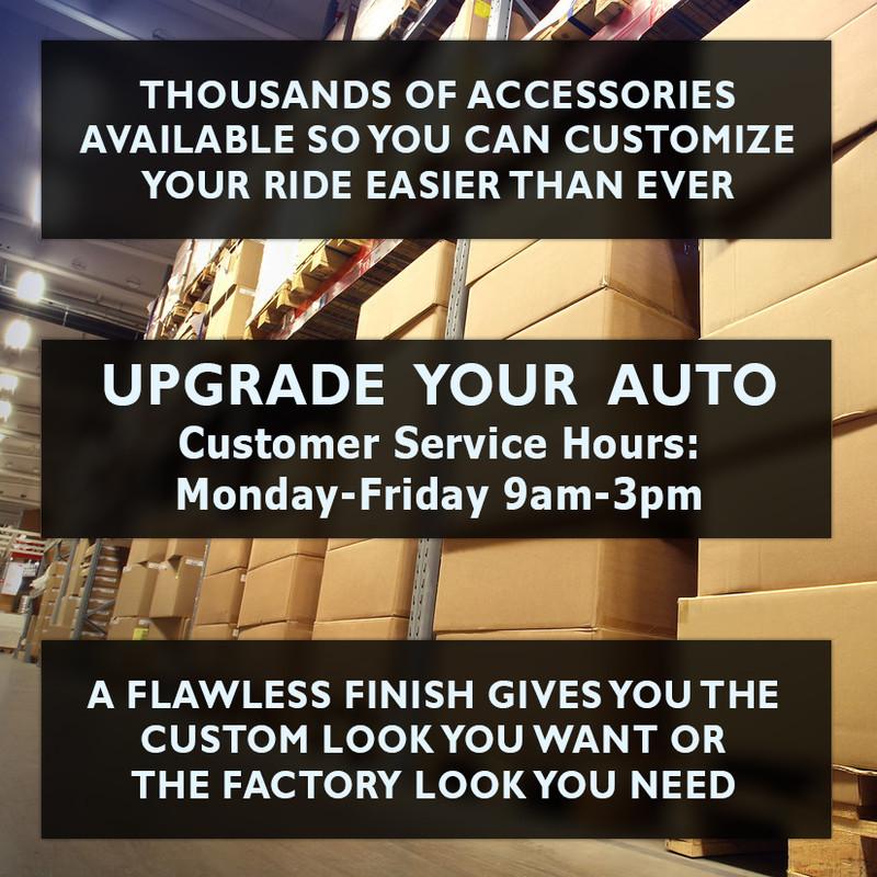 Upgrade Your Auto Premium FX Chrome Tail Light Bezels for 2007-2011 Dodge Nitro