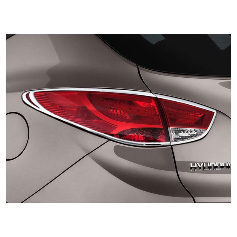 New Chrome Rear Light Cover Trim for Hyundai ix35 Tucson 2010-2012