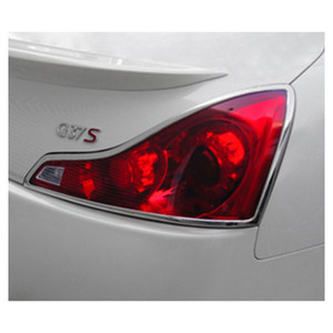 Premium FX | Front and Rear Light Bezels and Trim | 08-12 Infiniti G | PFXT0117