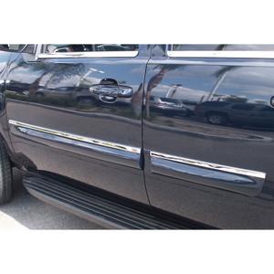 Auto Reflections | Side Molding and Rocker Panels | 10-13 GMC Yukon XL | R-2050-top-side-trim