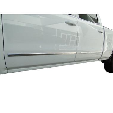 Auto Reflections | Side Molding and Rocker Panels | 14-15 GMC Sierra 1500 | R2142-Sierra-Moldings