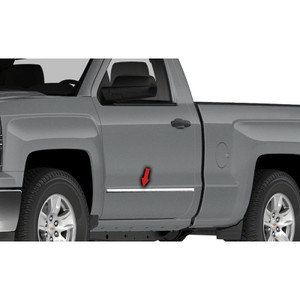 Auto Reflections | Side Molding and Rocker Panels | 14-15 Chevrolet Silverado 1500 | R2145-Silverado-Moldings