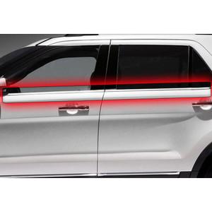 Auto Reflections | Window Trim | 11-13 Ford Explorer | R3169-Window-belt-trim