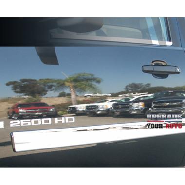 Auto Reflections | Side Molding and Rocker Panels | 07-13 GMC Sierra 1500 | R3352-or-R3353-or-R3354-sierra-full-moldings