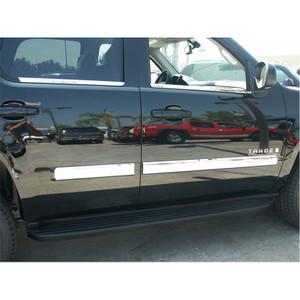 Auto Reflections | Side Molding and Rocker Panels | 10-13 GMC Yukon | R2048-Yukon-Full-Moldings