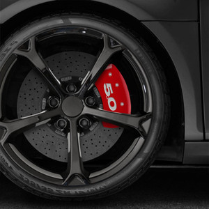Rear 5.0 Caliper Covers For 2005-2014 Ford Mustang by MGP