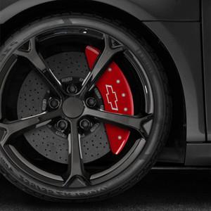 Bowtie Caliper Covers for 2011-2017 Chevrolet Silverado 3500 HD by MGP