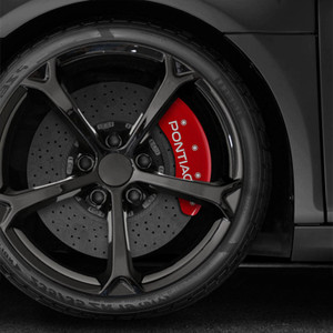 Front and Rear Caliper Covers for 2007-2009 Pontiac G5 by MGP