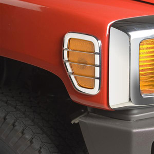 Putco | Front and Rear Light Bezels and Trim | 05-09 Hummer H3 | PUTZ0038