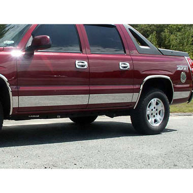 Luxury FX | Side Molding and Rocker Panels | 00-06 Chevrolet Suburban | LUXFX1238